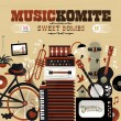 cover cd music komite sweet bombs
